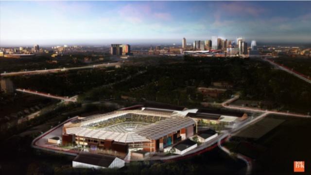 Nashville SC Nashville Fairgrounds stadium