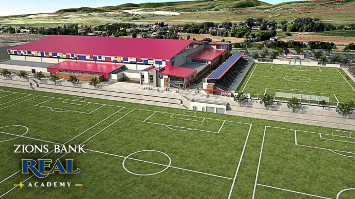 Zions Bank Real Academy. Photo courtesy Real Salt Lake. MLS Soccer