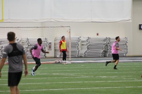 Goalkeeper Connor Sparrow