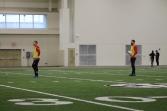 Goalkeepers Danny Vitiello and Matt Pickens