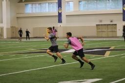 Midfielder Alan Winn and defender Taylor Washington